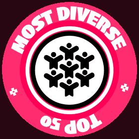 most diverse