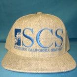 gray canvas hat