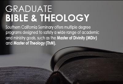 Graduate Bible & Theology