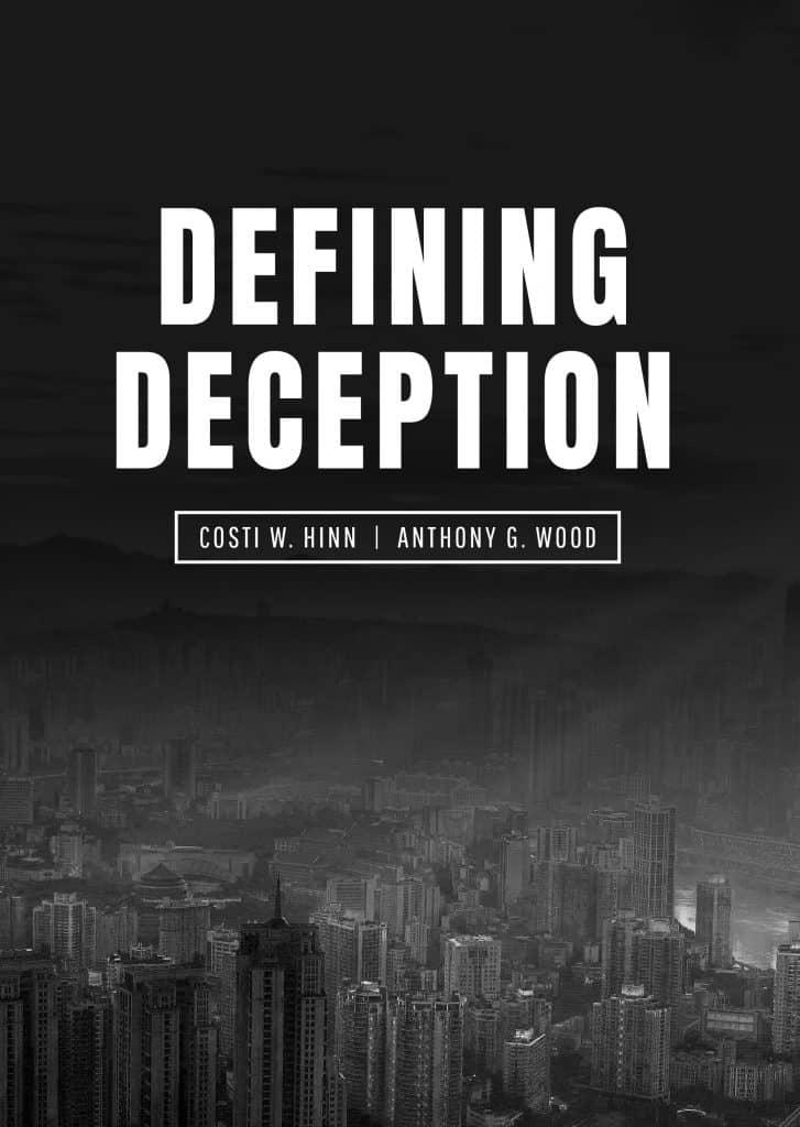 Defining Deception Book by Costi Hinn Cover Art